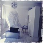 Vintagerie, Obergeschoss und Auslage in einem