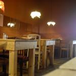 gemütlicher Blick ins Cafe der Provinz