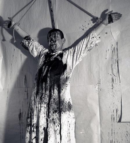 Kunst Hermann Nitsch Aktionsfotos 1960 1970 In Der