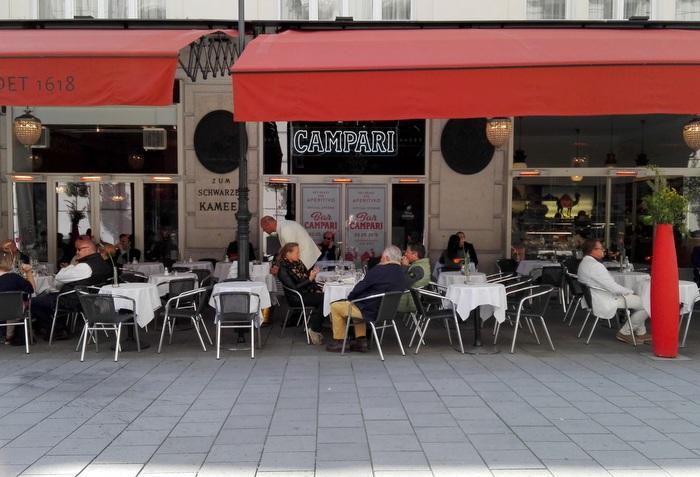 noch versteckt ... Bar Campari - kekinwien.at
