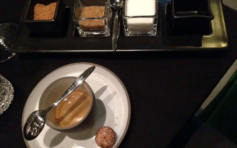 Kaffee von Alt Wien. Schön war's im Art Dinner Club, Foto (c) Andrea Pickl - kekinwien.at