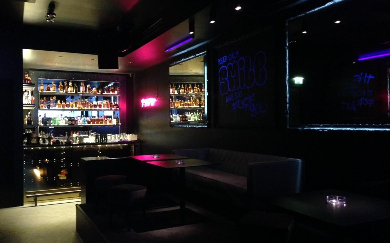 Eine von zwei Bars im Club, Foto (c) Andrea Pickl - kekinwien.at
