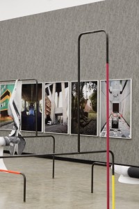 Ausstellungsansicht: Beton, Kunsthalle Wien 2016, Foto: Stephan Wyckoff: Sofie Thorsen, Spielplastiken, 2010–2016, Courtesy Galerie Krobath, Wien; Werner Feiersinger, Ohne Titel (Dante Bini), 2013; Ohne Titel (Fregene), 2015; Ohne Titel (Burri), 2016; Ohne Titel (Gino Valle), 2009; Ohne Titel (Musmeci), 2015; Ohne Titel (Morandi), 2010; Ohne Titel (Baratti), 2011; Ohne Titel (Corviale), 2015; Courtesy der Künstler und Galerie Martin Janda, Wien