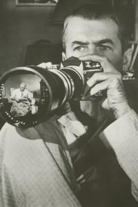 James Stewart in Das Fenster zum Hof, Regie: Alfred Hitchcock, 1954