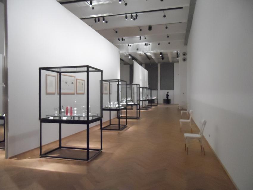 Das Glas der Architekten im MAK, Foto (c) Claudia Busser - kekinwien.at