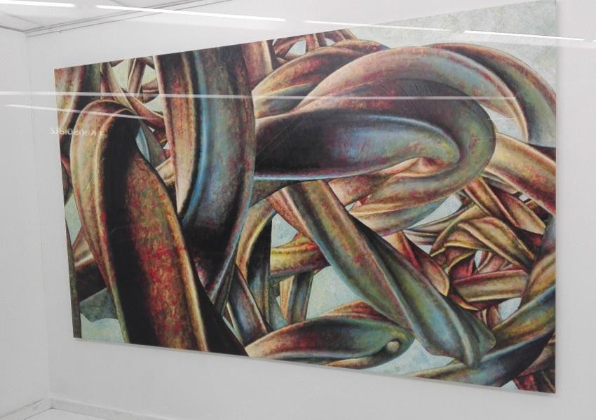 Detail aus Gedankenkraft, Johannes Herberstein, Foto (c) Claudia Busser - kekinwien.at