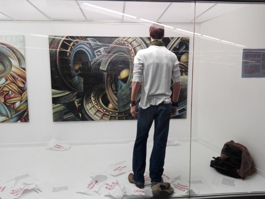 Gedankenkraft. Johannes Herberstein. Red Carpet Showroom Karlsplatz, Foto (c) Claudia Busser - kekinwien.at
