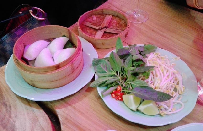 Waterprawn Dumplings und die Einlage für die Pho - kekinwien.at