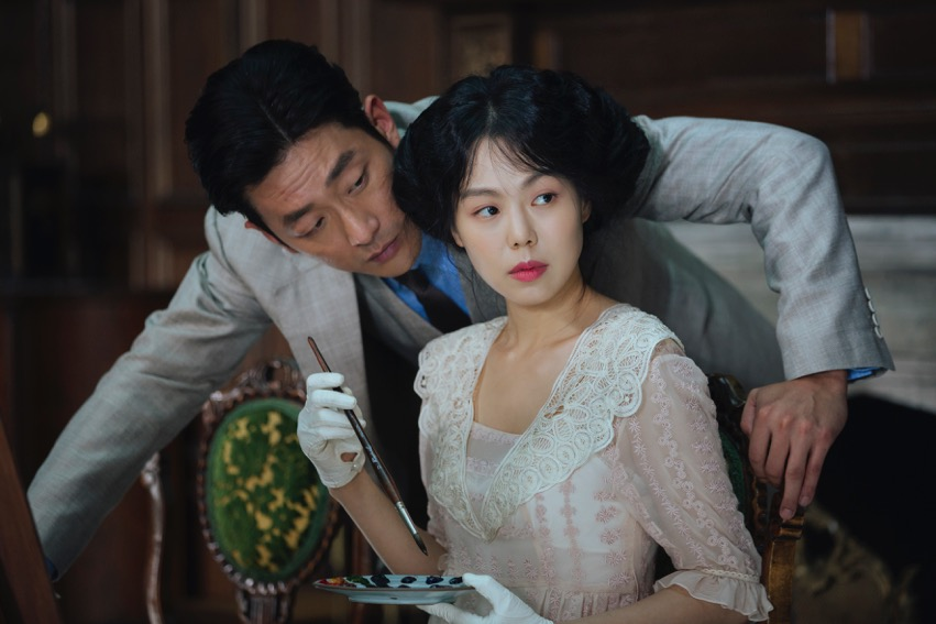 Graf Fujiwara (Ha Jung-woo), Lady Hideko (Kim Min-hee) © Filmladen Filmverleih
