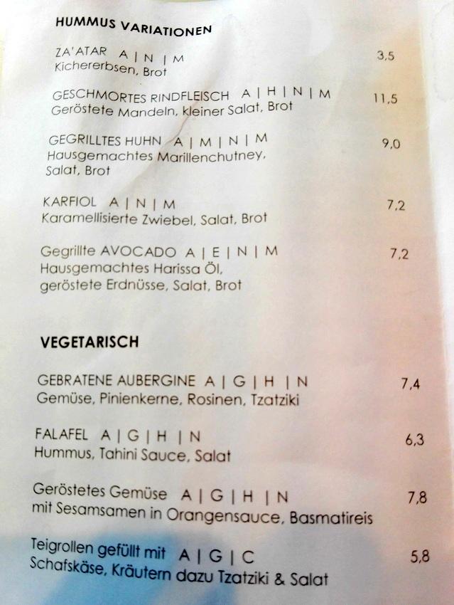 Humus und Vegetarisches im mani auf dem Yppenplatz - kekinwien.at