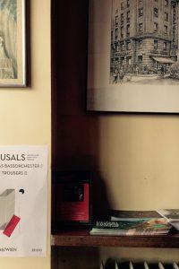 CAROUSALS, Plakat im Cafe Korb, Foto (c) Andrea Pickl - kekinwien.at