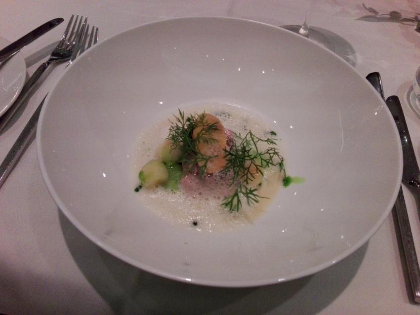 Huchen im Restaurant Schick, Foto (c) Claudia Busser - kekinwien.at