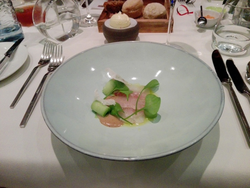 Sashimi vom Zander, Foto (c) Claudia Busser - kekinwien.at