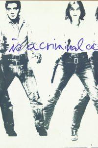 Ulrike Rosenbach Art is a criminal action No 4, 1969 SW-Fotografie auf Barytpapier bw photography on barit paper © Ulrike Rosenbach Bildrecht, Wien, 2016 SAMMLUNG VERBUND, Wien