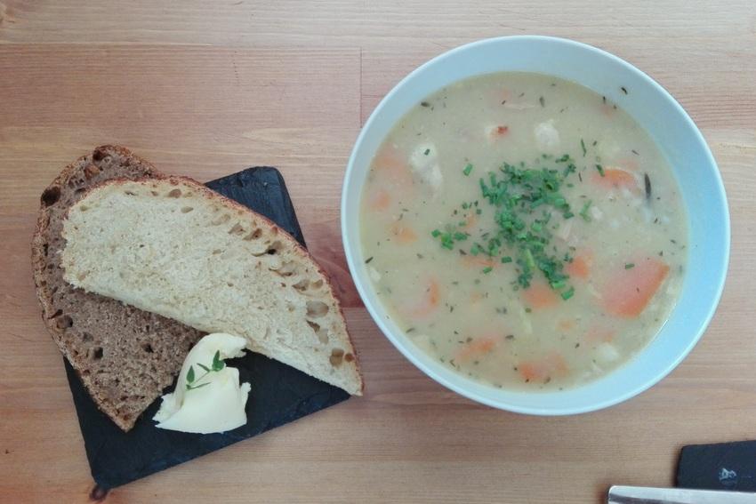 Die aufrichtende Suppe im Home Café - kekinwien.at