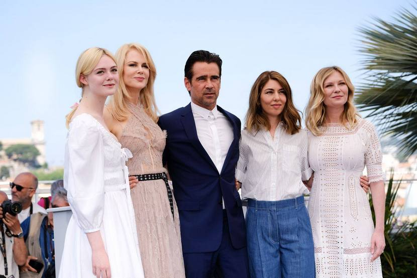 Regisseurin und Ensemble in Cannes, Die Verführten, Bild (c) Die Verführten auf fb, Universal Pictures