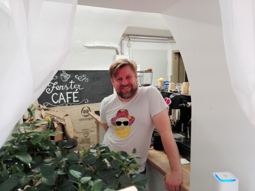 Fenster Café, the one and only Sascha, Foto (c) Claudia Busser - kekinwien.at