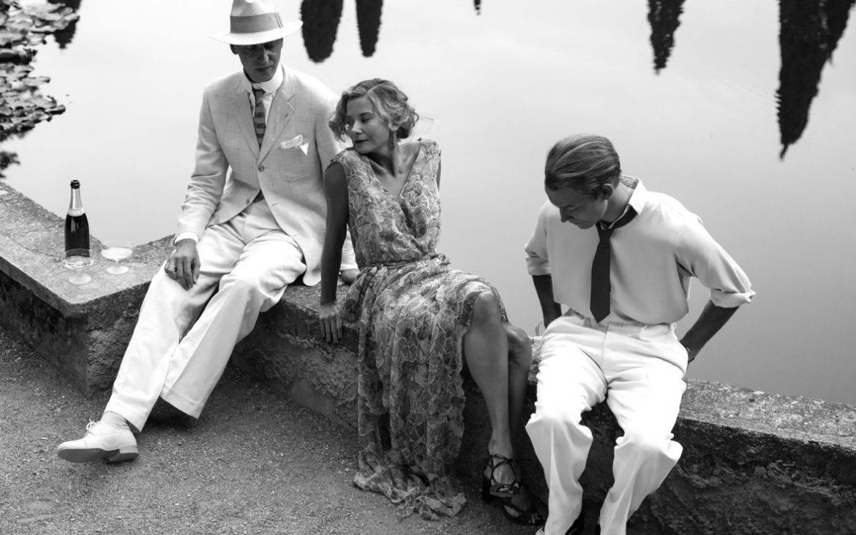 Prinz Kamenski (Evgeny Ratkov), Olga (J. Vysotskaya) und Helmut (C. Clauss) in der Toskana © Alpenrepublik