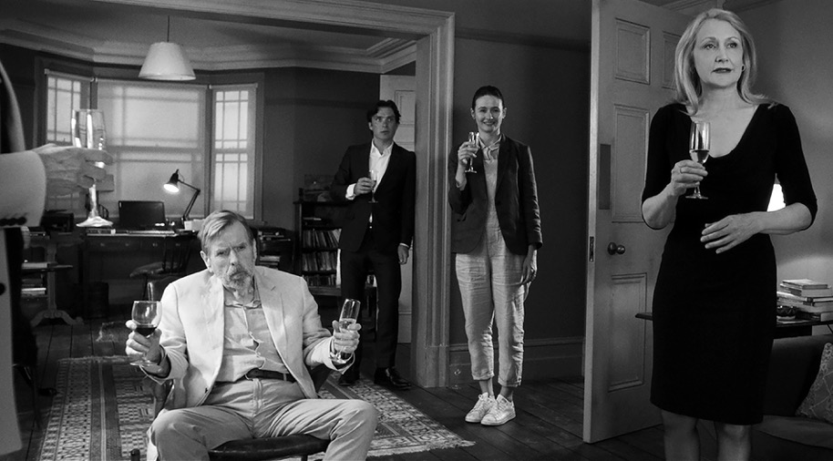 Timothy Spall, Cillian Murphy, Emily Mortimer und Patricia Clarkson © Adventure Pictures