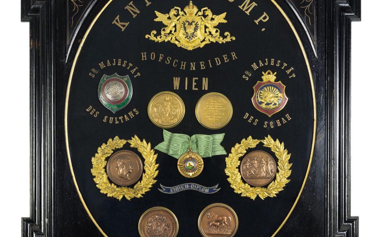 Knize Medaillen (c) JMW_S Gansrigler