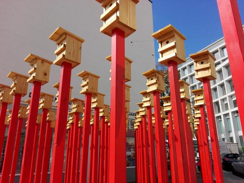 Warten auf Vögel, Josef Berhardt, Foto (c) Claudia Busser - kekinwien.at