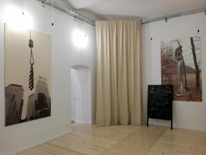 Was für ein Hinterzimmer! Demnächst ein Atelier, Bild (c) Claudia Busser - kekinwien.at