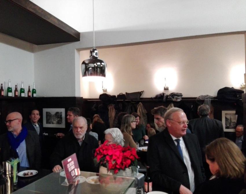 Der Abend der Präsentation der Limited Edition bei Trzesniewski, Bild (c) Claudia Busser - kekinwien.at