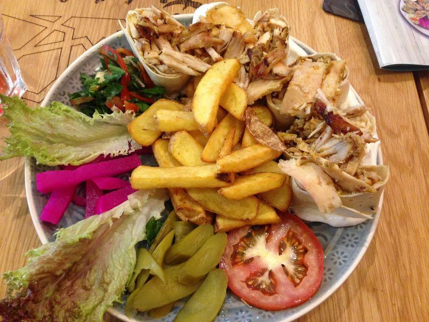 Pita Shawarma Tanoura, Foto (c) Andrea Pickl- kekinwien.at