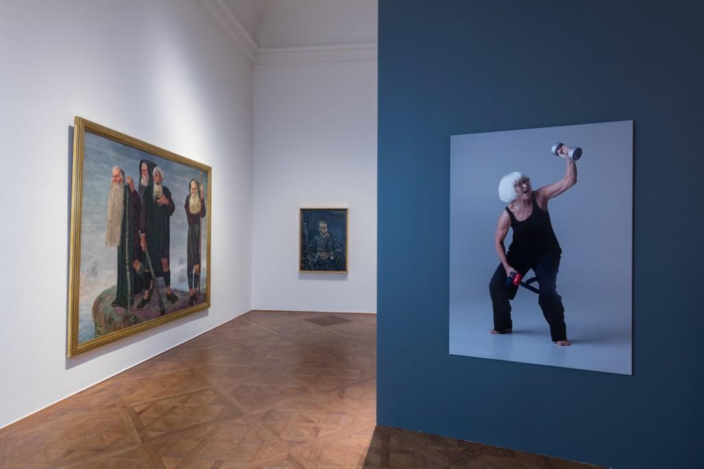 """Ausstellungsansicht """"Die Kraft des Alters"""" Foto: Johannes Stoll, © Belvedere, Wien"""