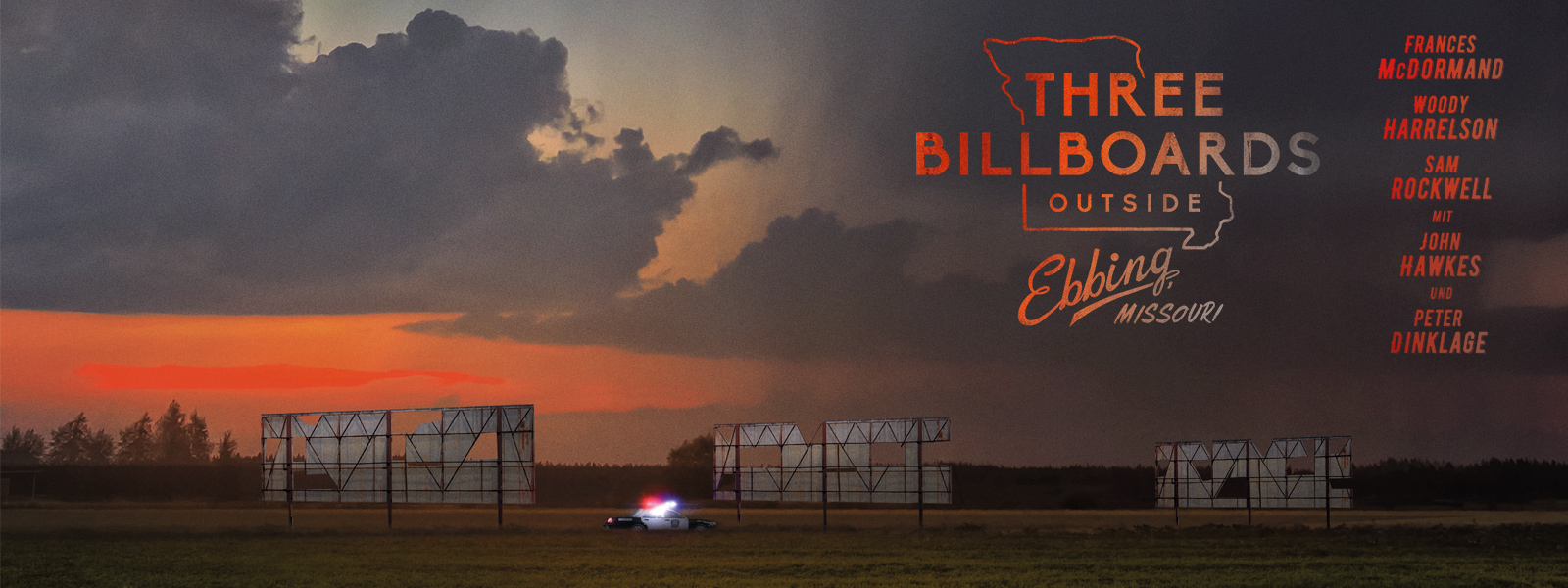 Three billboards outside ebbing, missouri, Filmplakat - kekinwien.at