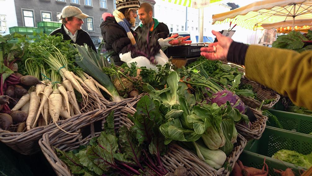 Wintergemüse, auf dem Naschmarkt, Bild (c) Mischa Reska - kekinwien.at
