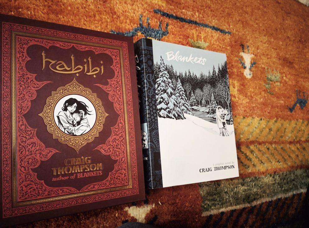 """2 keke Tipps in Sachen Graphic Novels: Craig Thompsen """"Habibi"""" und """"Blankets"""", Bild (c) Andrea Pickl - kekinwien.at"""