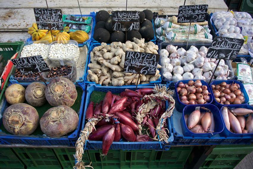 Wintergemüse auf einem Wiener Markt, Bild (c) Mische Reska - kekinwien.at