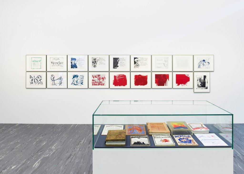 """Ausstellungsansicht """"Günter Brus. Unruhe nach dem Sturm"""", Foto: Sophie Thun, © Belvedere, Wien, 2018"""