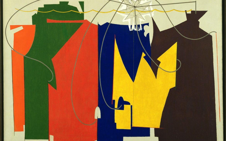Man Ray, Kunstforum, The Rope Dancer Accompanies Herself with Her Shadows, Bild © 2017. Digital image, The Museum of Modern Art, New York / Scala, Florenz