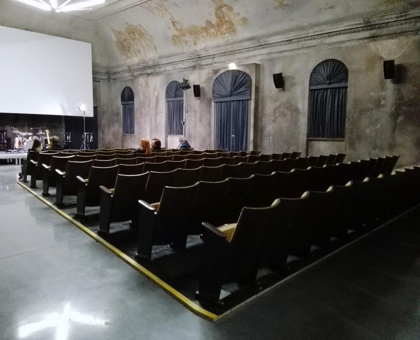 Das Kino kann auch als Konzertsaal genützt werden, Bild (c) Claudia Busser - kekinwien.at