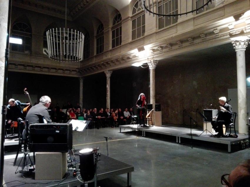 Eröffnung, mit der Musik von Franz Hautzinger, Bild (c) kekinwien.at
