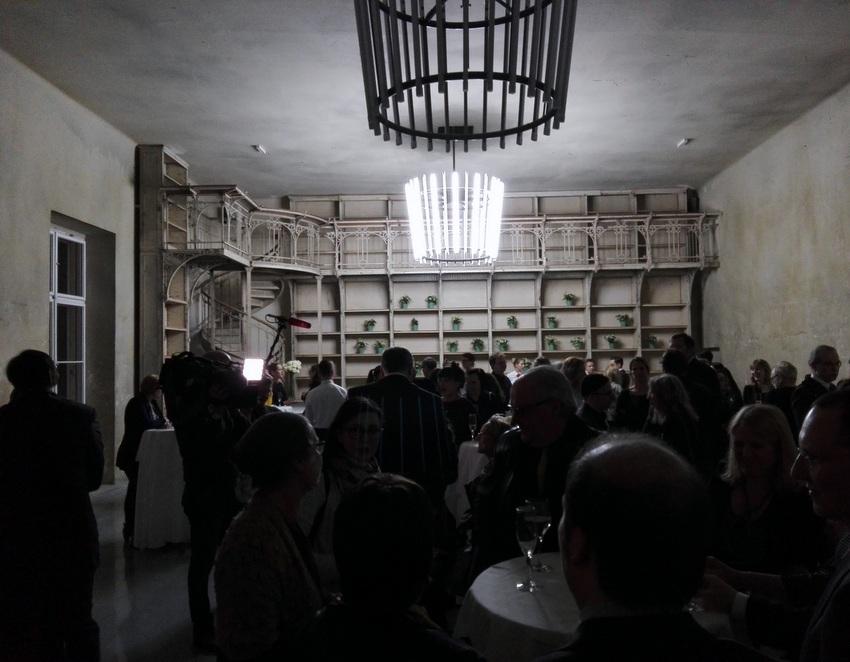 Eröffnung des REAKTOR, in der Bibliothek, Bild (c) Claudia Busser - kekinwien.at