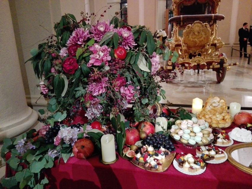 ein Teil des opulenten Buffets für die werten Gäste der Schnabulerie, Bild (c) Claudia Busser - kekinwien.at