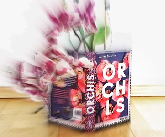 Orchis, Buchcover, Romandebut von Verena Stauffer, Bild (c) Alexandra Wögerbauer-Flicker - kekinwien.at