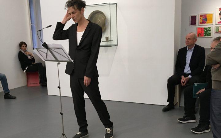 Christian Reiner im Dom Museum Wien. Foto (c) Nina Binder - kekinwien.at