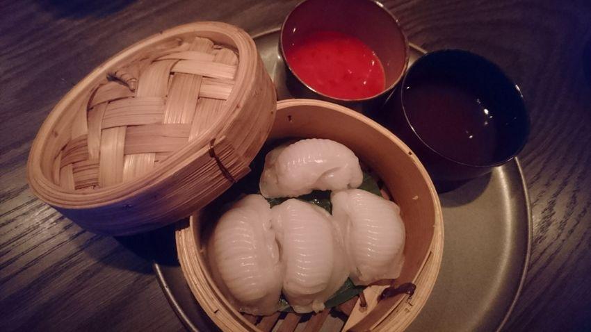 prawn cellery dumplings, Euro 5,50, DOTS, Bild (c) Mischa Reska - kekinwien.at