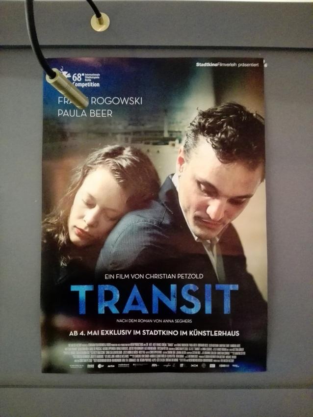 Transit, Filmplakat im Stadtkino im Künstlerhaus, Wien, Bild (c) Claudia Busser - kekinwien.at
