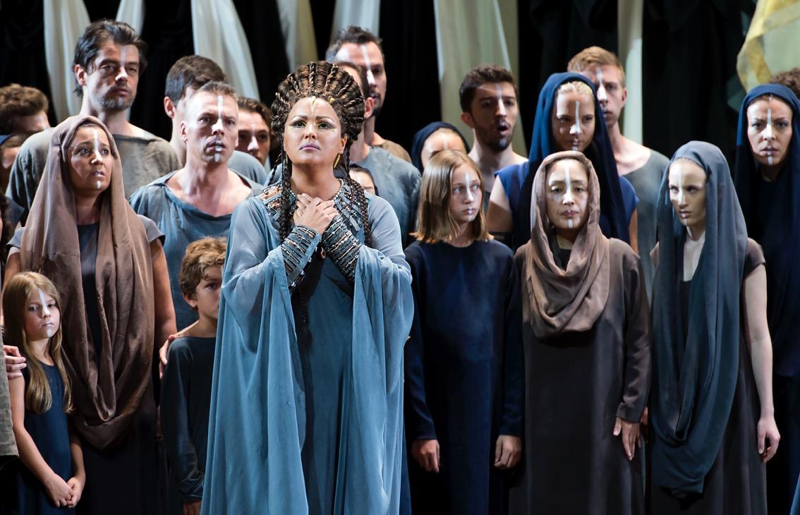 Anna Netrebko in Aida Salzburger Festspiele 2017 Foto © stadt wien marketing