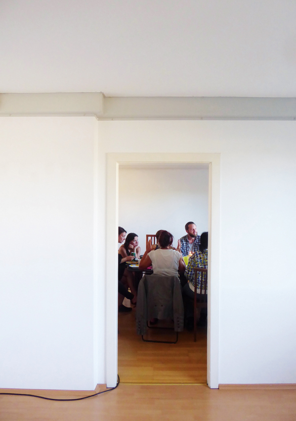 Mangels Überfluss, ein Cafe und Kunstprojekt bei SOHO in Ottakring 2018 © Nora Gutwenger