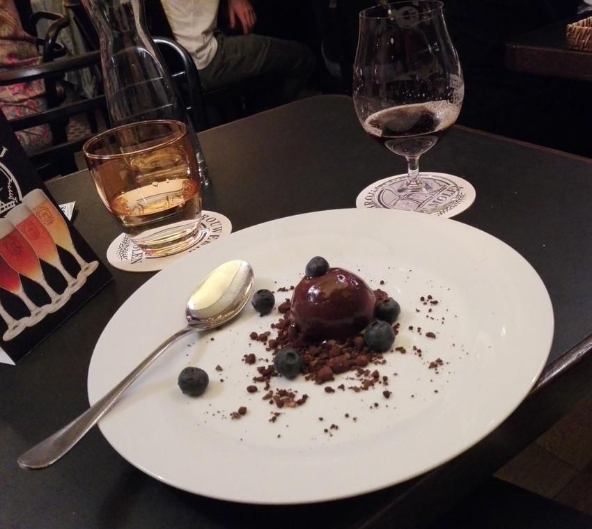 ein Dessert im Stadtboden, Bild (c) Claudia Busser - kekinwien.at