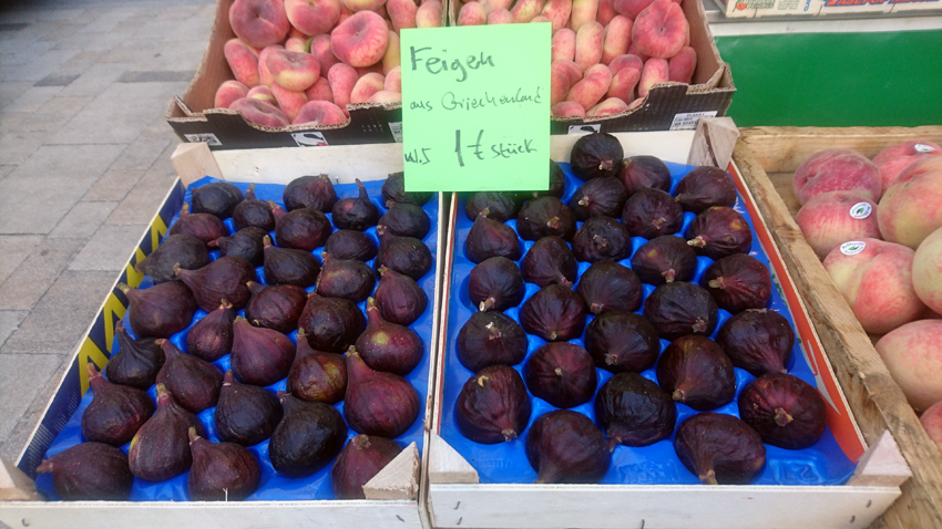 griechische Feigen auf dem Markt, Bild (c) Mischa Reska - kekinwien.at