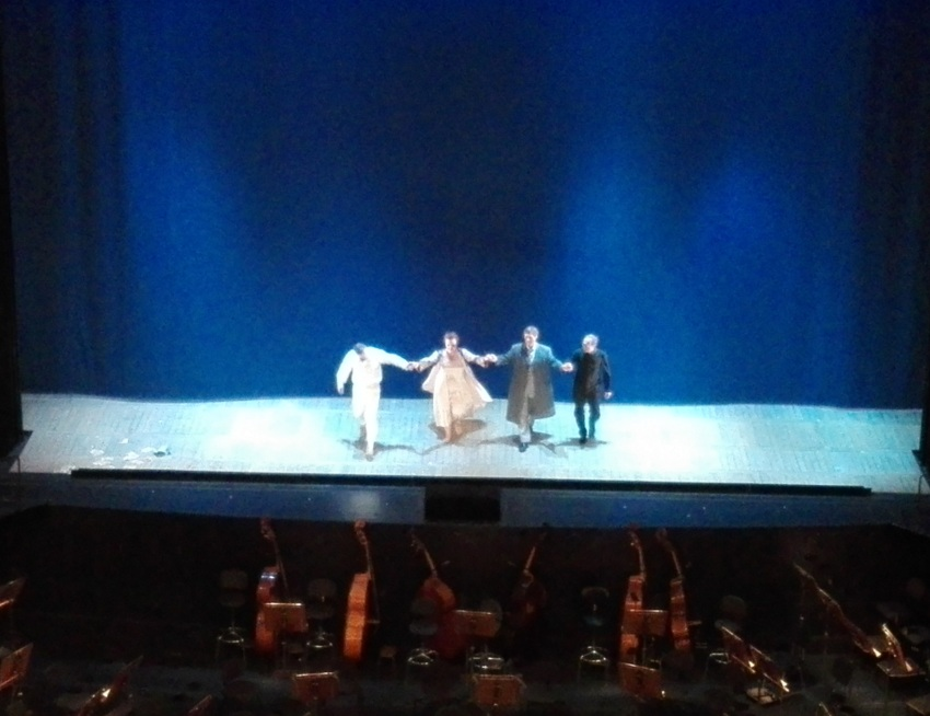 Großer Schlussapplaus bei La Traviata in der Wiener Staatsoper, Bild (c) kekinwien.at