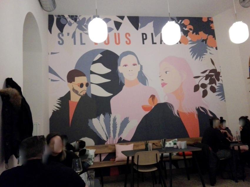 PLAIN, Interieur: Es geht nicht ohne Wandbild, Bild (c) kekinwien.at