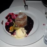 noch ein köstliches Dessert im Finkh